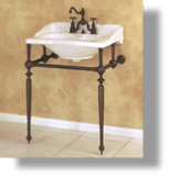 Empire Washbasin & Metal Washstand