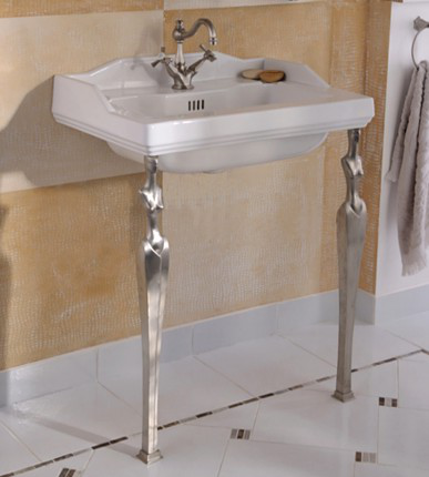 Monarque Washbasin & Les. Favorites Washstand