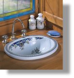 Opale Oval Countertop Lav. Bowl