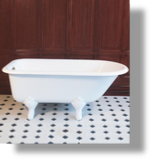 "Cast Iron ""Retro"" Tub 5'"