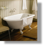 "Cast Iron ""Retro"" Tub 5 1/2'"