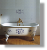 "Cast Iron ""Josephine"" Tub"