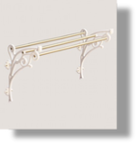 "Charleston 24"" Towel Rack"
