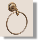 "Pompadour 6""  Towel Ring"