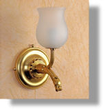 Pompadour Single Wall Light
