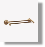 "Pompadour 24"" Double Towel Bar"