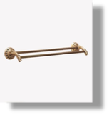 "Pompadour 30"" Double Towel Bar"