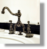 Royale 2-Hole Basin Set with Lever Handles