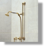 Royale Slide Bar with Hand Shower & Elbow